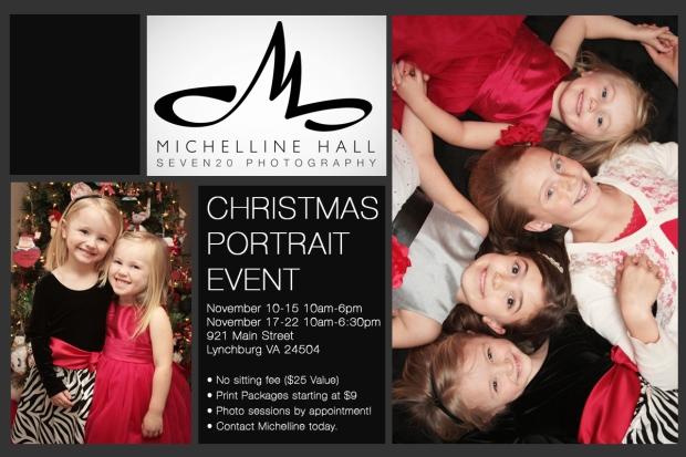 Christmas Portrait Event