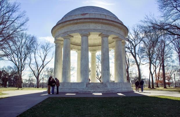 World War II Monument by MIchelline N. Hall Dec 2013