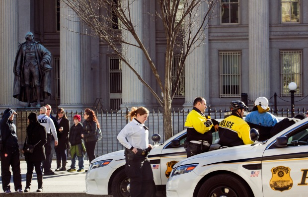 Under that Watchful Eye- Michelline Hall Photos from Washington DC Dec 2013